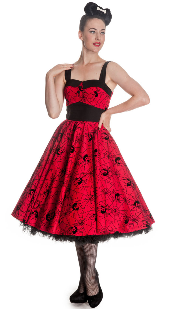 Kleid Black Widow