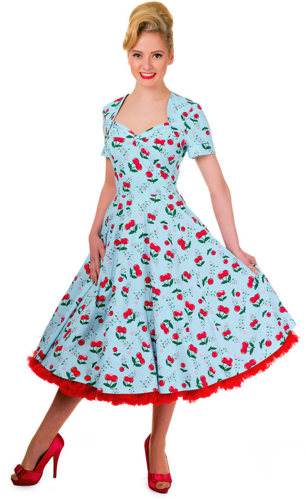 Kleid Blindside Cherry