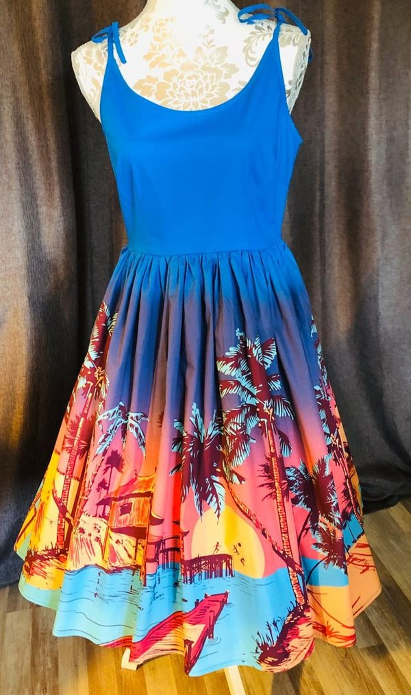 Kleid Tropical Sundress